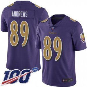 Ravens Mark Andrews 100th Season Jersey